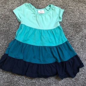 Hanna Andersson 80 (18-24mo) color block dress